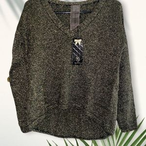 Moon collection black and gold sweater